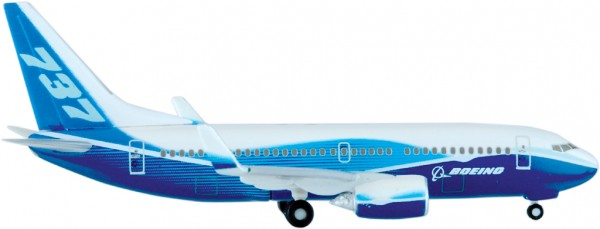Boeing 737-700 w/ Winglet House Color Scale 1:500