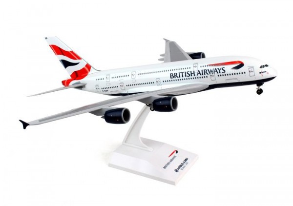 Airbus A380-800 British Airways G-XLEA Scale 1/200
