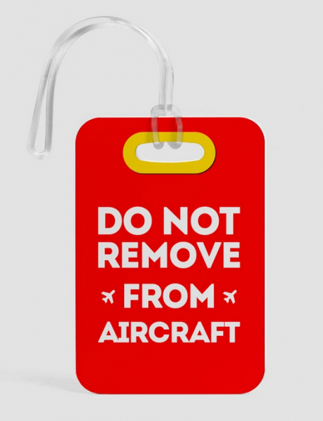 Luggage Tag - Do not remove
