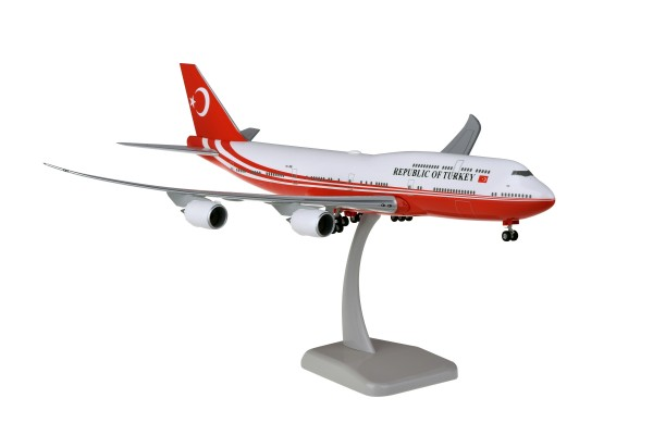 Boeing 747-8 Turkey Government TC-TRK Scale 1:200