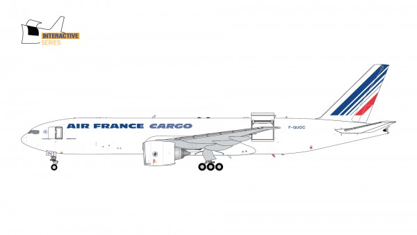 Boeing 777-200LRF Air France Cargo Interactive Series F-GUOC Scale 1/200