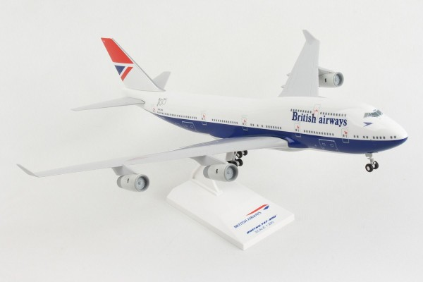 "Boeing 747-400 British Airways ""Negus Livery"" Scale 1/200 w/G"