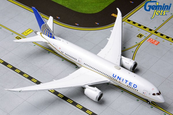 Boeing 787-8 Dreamliner United Airlines Scale 1/400