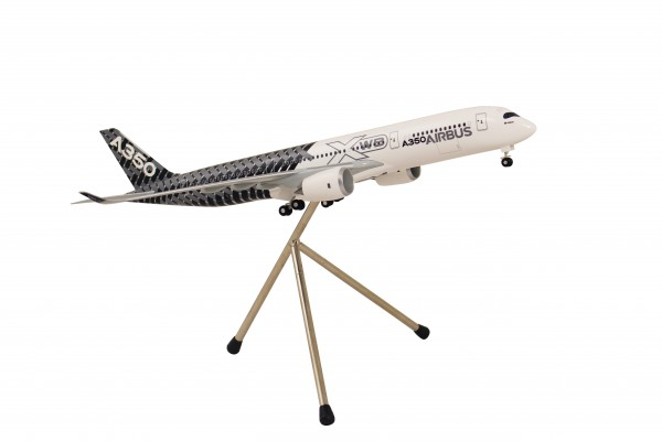 "Airbus A350XWB House Color ""Carbon livery"" Scale 1:200"