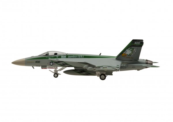 McDonnell Douglas F/A-18E Hornet SUPER HORNET USN VFA-195 NF400 Scale 1/200