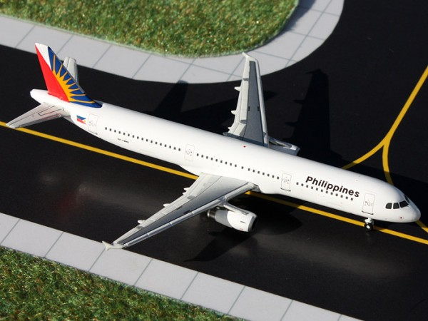 Airbus A321 Philippine Airlines Scale 1/400