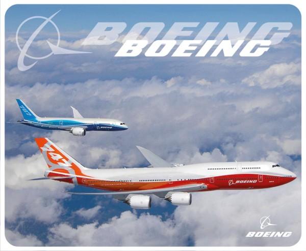 Boeing 747-8i & 787 air to air Mousepad