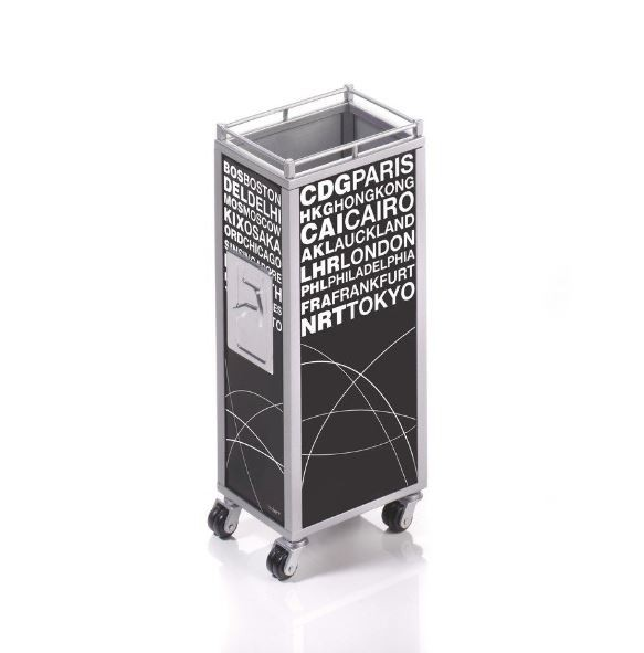 "PEN HOLDER MINI TROLLEY ""WORLD"""