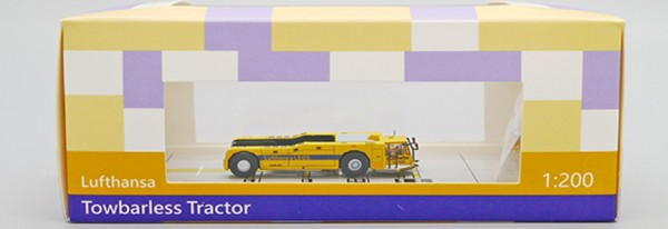 Towbarless Tractor Lufthansa Scale 1/200 #