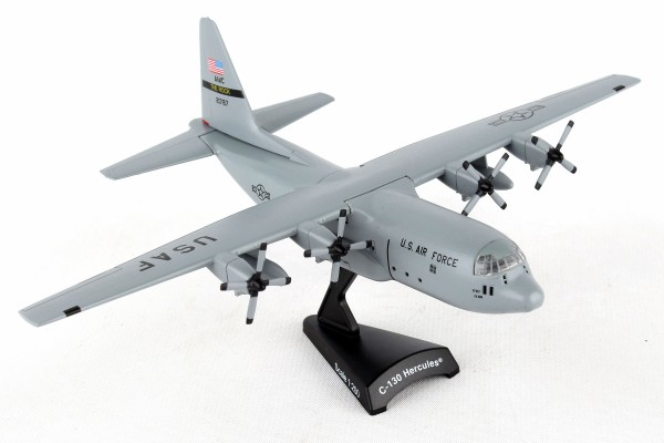 POSTAGE STAMP Herkules C-130 USAF Spare 617 Scale 1/200