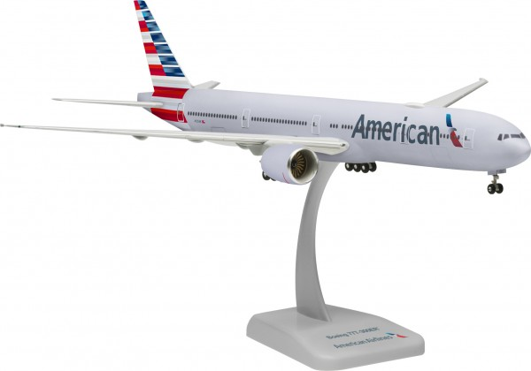 Boeing 777-300ER American Airlines with WiFi Radome N725AN Scale 1:200