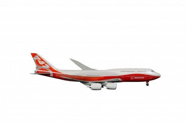 Boeing 747-8 House Color Inflight Wings Scale 1:500