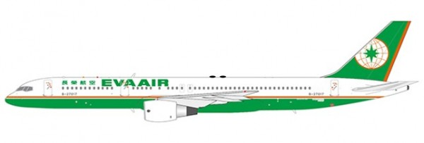 Boeing 757-200 EVA Air B-27021 Scale 1/400