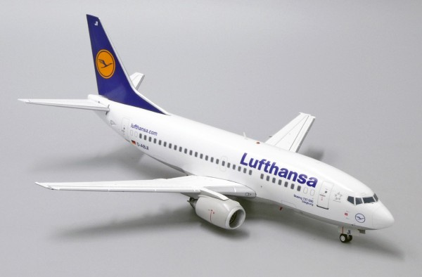 """Boeing 737-500 Lufthansa """"old livery"""" D-ABJI Scale 1/200"""