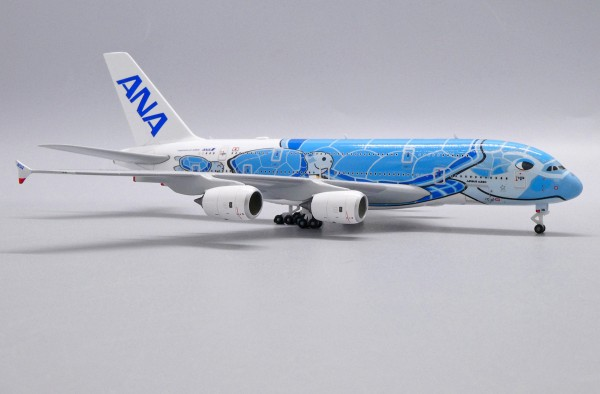 """Airbus A380-800 All Nippon Airways (ANA) """"Flying Honu - Lani Livery"""" JA381A Scale 1/500"""