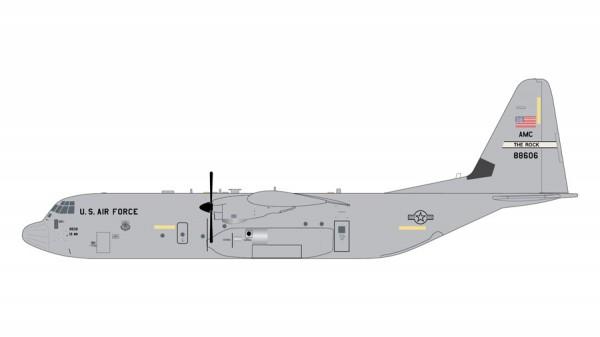 """Lockheed C-130J-30 Hercules U.S. Air Force """"Little Rock AFB"""" Scale 1/200"""