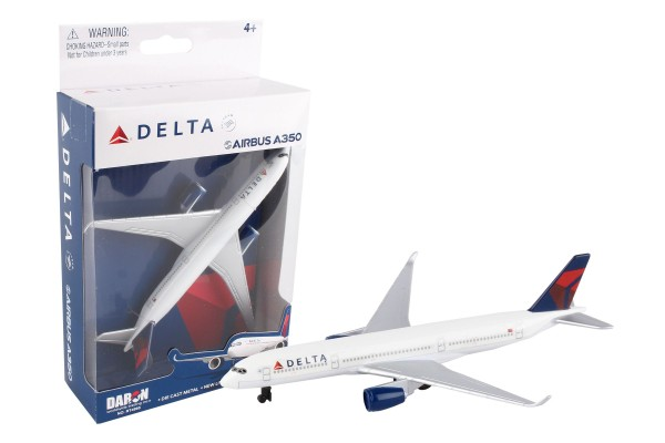 Airbus A350 Delta Airlines Single Toyplane