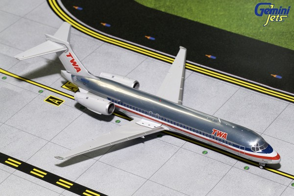 Boeing 717-200 Trans World Airlines (TWA) Scale 1/200