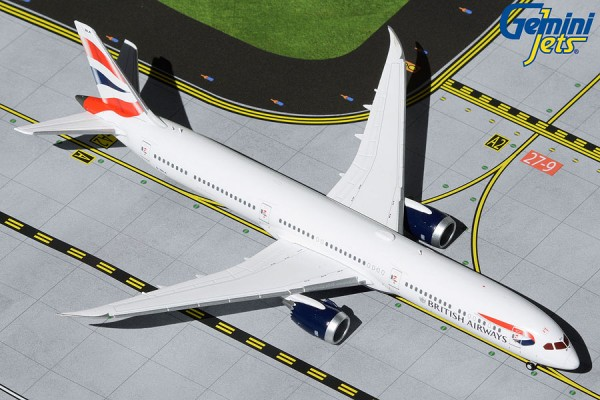 Boeing 787-10 British Airways G-ZBLA Scale 1/400