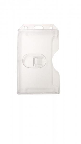 Ausweishülle aus Hartplastik /card wallet hard plastic Version I