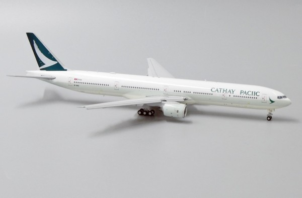 "Boeing 777-300 Cathay Pacific ""Wrong title version"" Flap Down Version B-HNO Scale 1/400"
