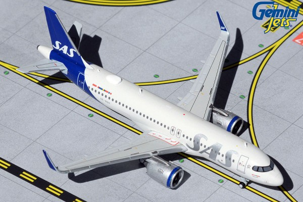 Airbus A320-200 Scandinavian Airlines (SAS) NL SE-ROH Scale 1/400