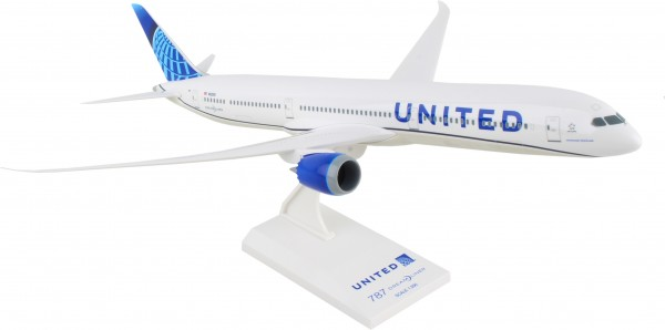 Boeing 787-10 United Airlines New Livery Scale 1/200
