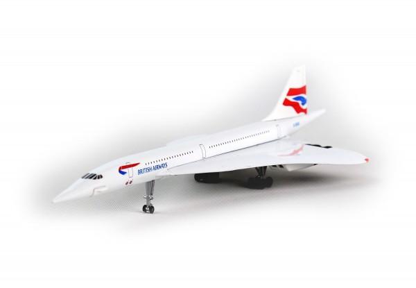 POSTAGE STAMP Concorde British Airways Scale 1/350