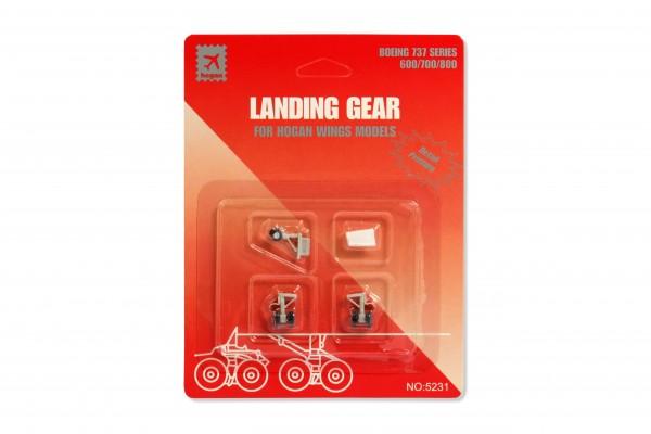 Fahrwerk / Landing gear B737-800 Series for Hogan Wings Models