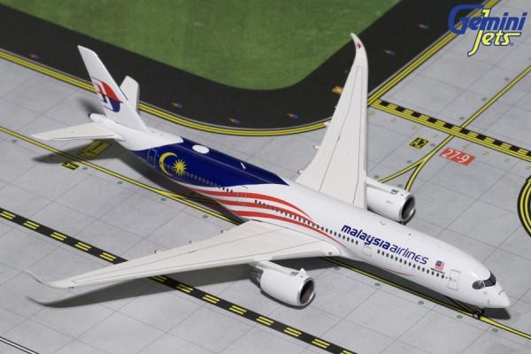 "Airbus A350-900 Malaysia Airlines ""Negaraku"" Scale 1/400"