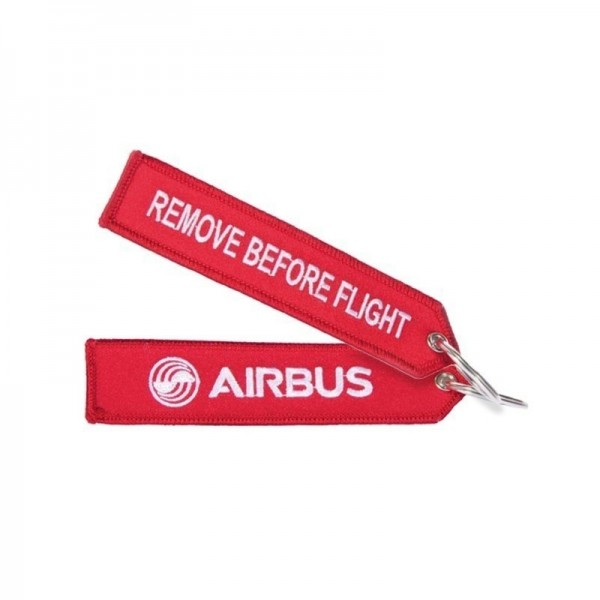 Key ring - A380 red Large size: 160 x 30 mm