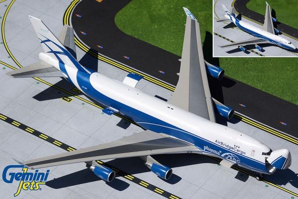 Boeing 747-400ERF AirBridgeCargo VP-BIM (Interactive Series) Scale 1/200