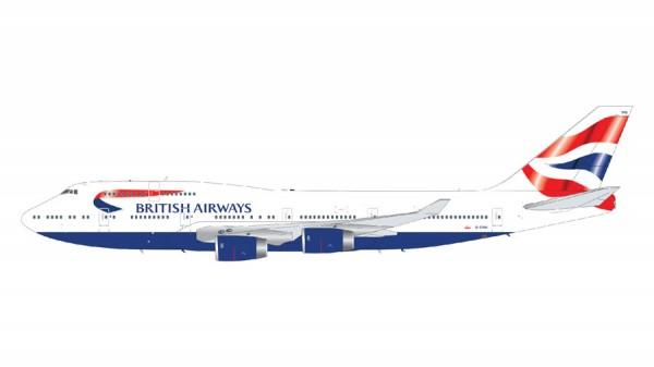 Boeing 747-400 British Airways Scale 1/200