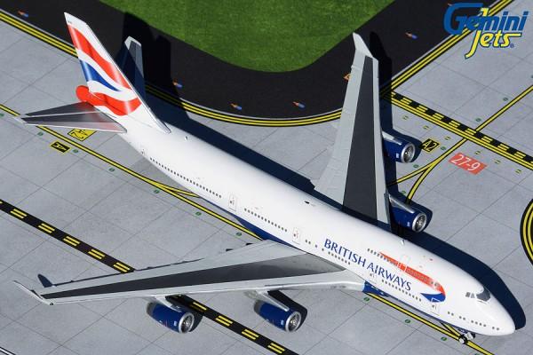Boeing 747-400 British Airways Scale 1/400