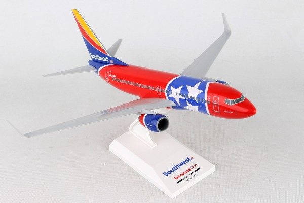 "Boeing 737-700 Southwest Airlines ""Tennessee One"" Scale 1/130"