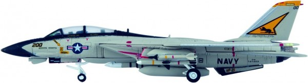 "Grumman F-14A Tomcat US Navy VF-21 ""Freelancers"", CVW-14, CV-64, USS Constellation Scale 1/200"