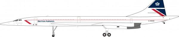 Concorde British Airways British Airways Aerospatiale-BAC G-BOAB Scale 1/200 plus Collectors coin #