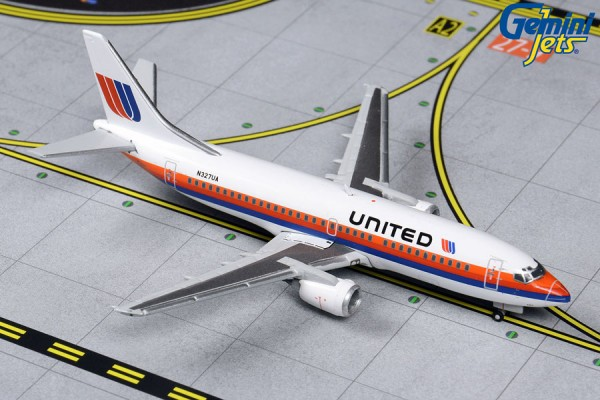 Boeing 737-300 United Airlines Scale 1/400