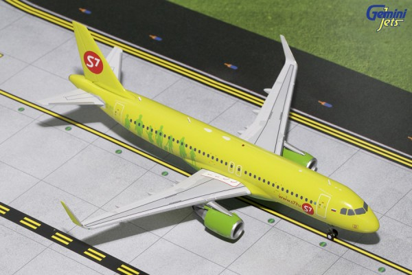 Airbus A320-200S S7 Airlines Scale 1/200