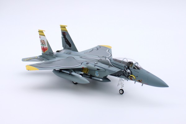 McDonnell Douglas F15C Eagle USAF ANG 194th Fighter Squadron, 75th Anniversary Edition Scale 1/72
