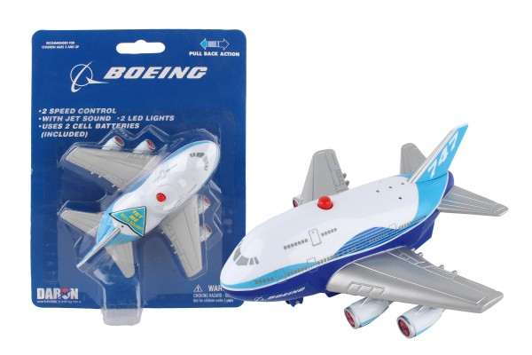 Boeing Pullback Plane w/Light & Sound