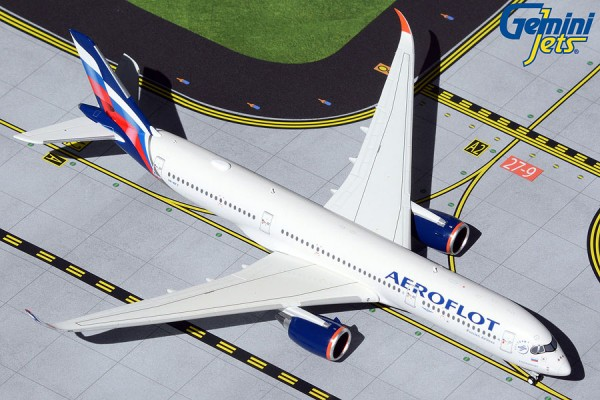 Airbus A350-900 Aeroflot New livery Scale 1/400