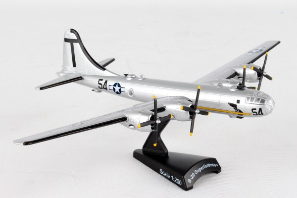 POSTAGE STAMP Boeing B-29 Superfortress T Square 54 MUSEUM OF FLIGHT Scale 1/200