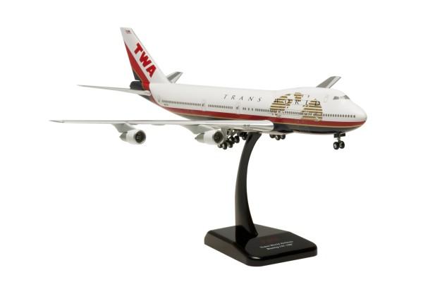 Boeing 747-100 TWA N93108 Scale 1:200