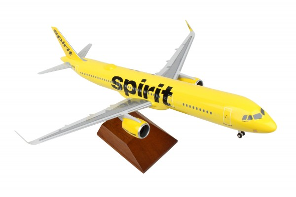 Airbus A321neo Spirit Airlines Scale 1/100 w/Gear