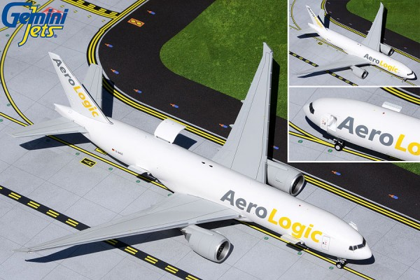 Boeing 777F AeroLogic (Interactive Series) D-AALD Scale 1/200