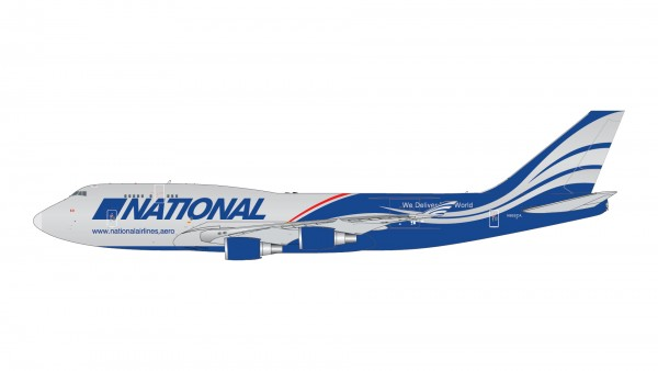 Boeing 747-400BCF National Airlines N952CA Scale 1/400