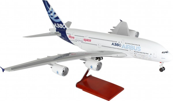 Airbus A380 House Color Scale 1/100 w/Gear