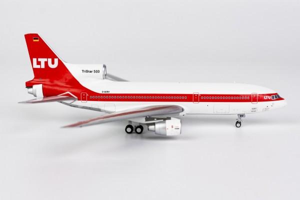 "Lockheed L-1011-500 TriStar LTU ""late 1980s (white roof)"" D-AERV Scale 1/400"