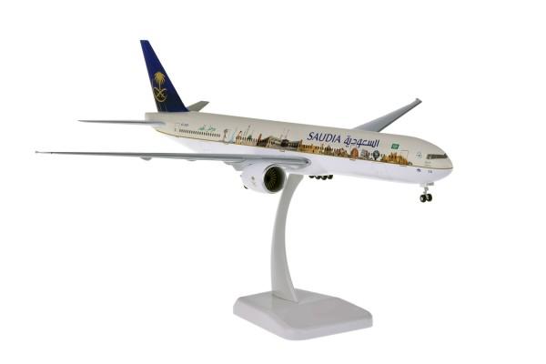 "Boeing 777-300ER Saudi Arabian Airlines ""Landmark"" HZ-AK28 Scale 1:200"